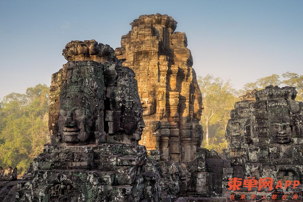巴戎寺Bayon Temple