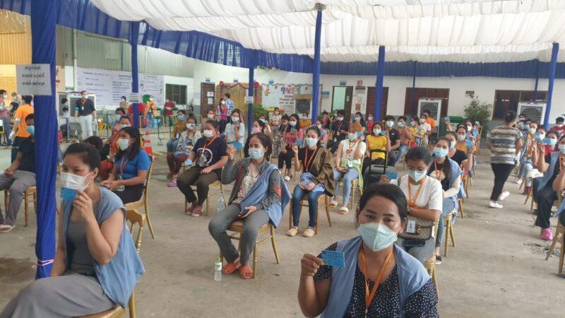 近9万名工人已接种中国疫苗