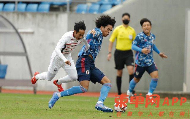 柬埔寨U23国足0:4不敌日本队