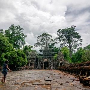 吴哥窟游记!在柬埔寨吴哥街头漫步